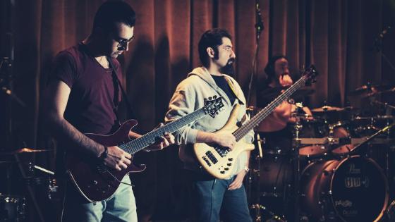 Live Band Studio Recording