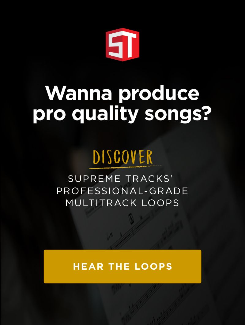 Supreme Tracks Loops Ad