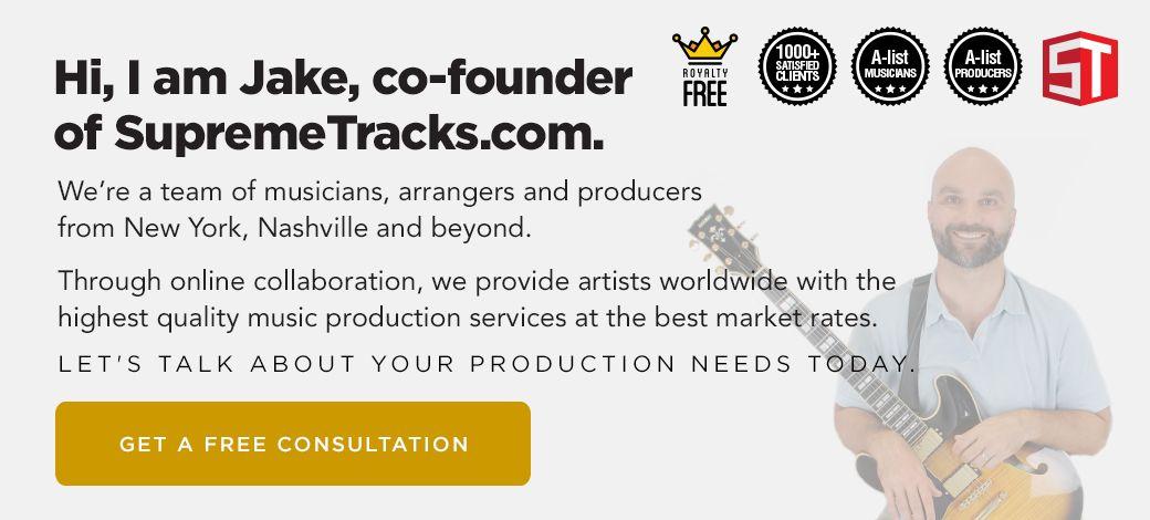 Supreme Tracks free consultation body ad