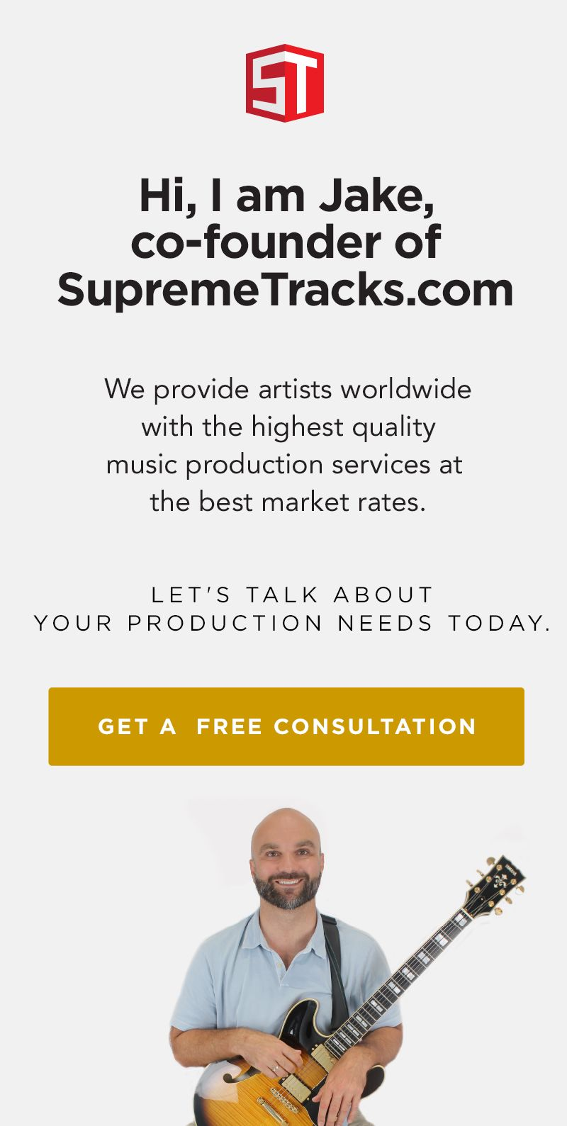 Supreme Tracks Services Ad